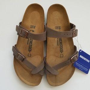 Birkenstock Mayari Mocha Brown Sandal 39 N